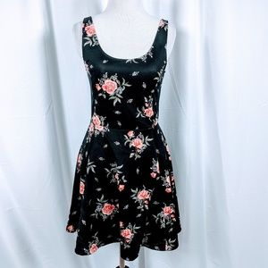 H&M Divided Floral Print A-LINE Tank Dress